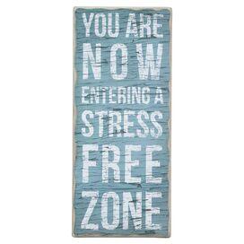 Stress Free Zone Wall Decor
