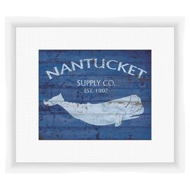 Nantucket Framed Giclee Print