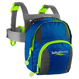 Kid's Ski Trainer Harness & Leash in Blue