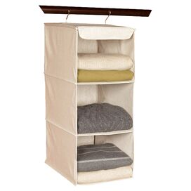 3-Shelf Hanging Garment Organizer