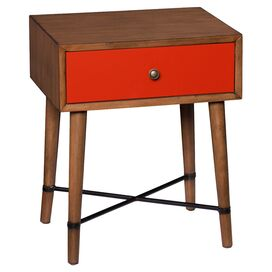 Anderson End Table in Red