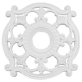Holly Ceiling Medallion in White
