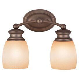 Ellen 2-Bulb Vanity Light in Satin Nickel