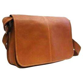 Cambridge Leather Messenger Bag in Tan