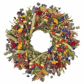 Preserved Nature's Palette Wreath