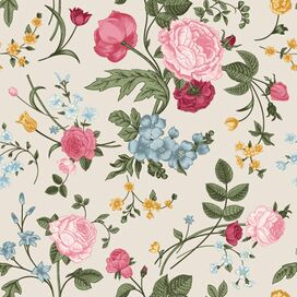 Bouquet Removable Wallpaper