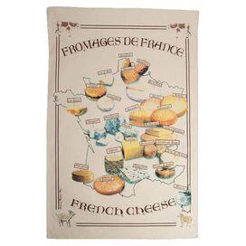 Fromages de France Tea Towel