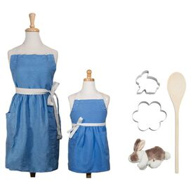 6-Piece My Little Bunny Baker's Kit in Blue