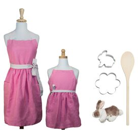 6-Piece My Little Bunny Baker's Kit in Pink