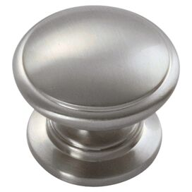 Williamsburg Cabinet Knob in Satin Nickel