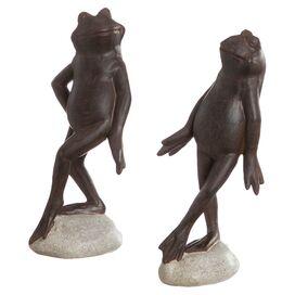 Dancing Frog Indoor/Outdoor Statuette