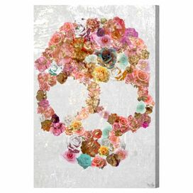 Skull of Roses Canvas Print, Oliver Gal