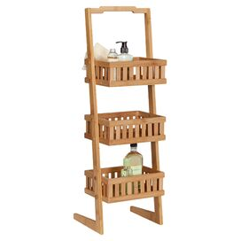 3-Tier Bamboo Etagere