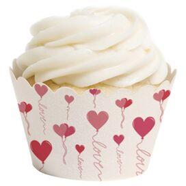 Balloon Cupcake Wrapper (Set of 12)