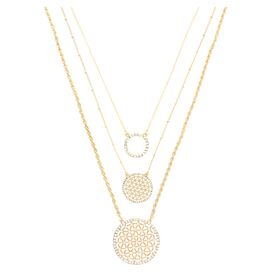 Talia Necklace in Gold