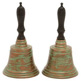 White Star Bell (Set of 2)