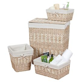 4-Piece Arcadia Basket & Hamper Set