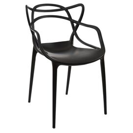 Crawford Arm Chair in Black