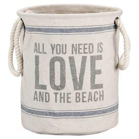 Love & Beach Storage Bin