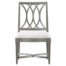 Resort Heritage Coast Side Chair in Distressed Dolphin