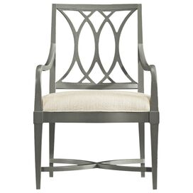 Resort Heritage Coast Arm Chair in Distressed Dolphin