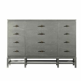 Resort Isle Dresser in Distressed Dolphin