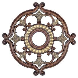 Holly Ceiling Medallion in Bronze