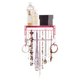 BelleDangles Clarissa Jewelry Holder in Pink