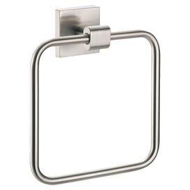 Elevate Towel Ring in Satin Nickel