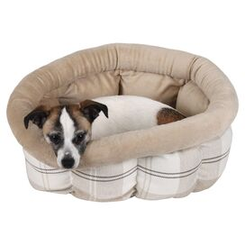 Avery Pet Bed in Sand