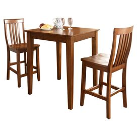 3-Piece Windsor Pub Table Set in Cherry
