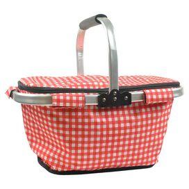 Red Check Picnic Basket