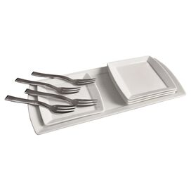 9-Piece Tavola Appetizer Plate Set