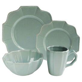 16-Piece Marjory Dinnerware Set in Blue