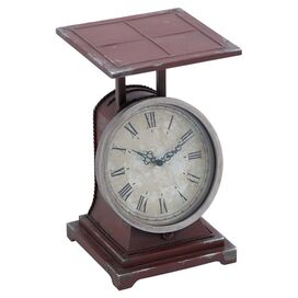 Scale Table Clock