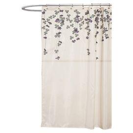 Gwyneth Shower Curtain in Ivory