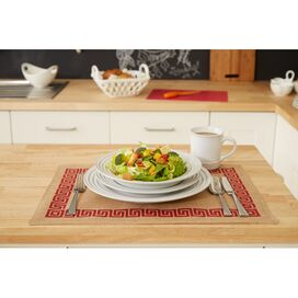 Le Creuset 4-Piece Dinnerware Set in White
