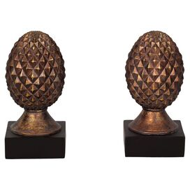 Pineapple Bookend (Set of 2)