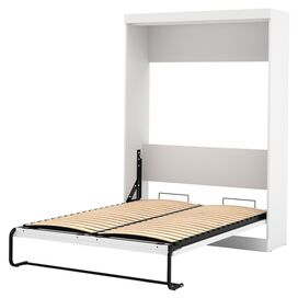 Janeen Full Murphy Bed in White