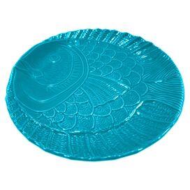 Dora Plate in Aqua
