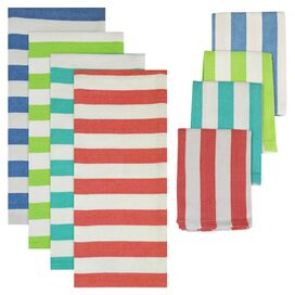 8-Piece Cabana Towel Set