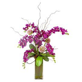 Faux Fuchsia Orchid