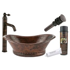 Garrett Copper Vessel Sink