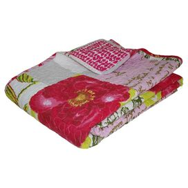 Love Letters Cotton Throw