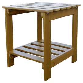 Annie Patio Side Table in Toffee