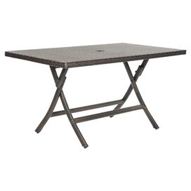Meredith Rattan Dining Table