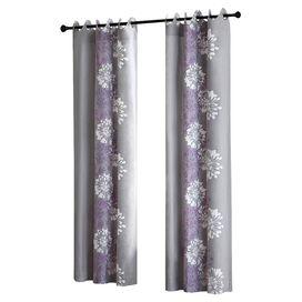 Anaya Curtain Panel in Purple