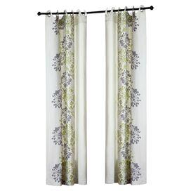 Anaya Curtain Panel in Green