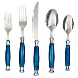 20-Piece Barcelona Stainless Steel Flatware Set