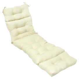 Kelly Indoor/Outdoor Chaise Cushion in Tan